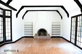 white wall trim option 8 house living room painting white walls black baseboards