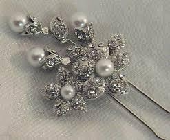 swarovski hair pins