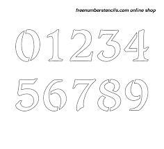 Number Stencils Magdalene Project Org