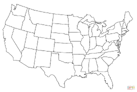 Small Picture North America Map Coloring Page Printable Picture Of North America