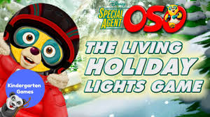 Special Agent Oso The Living Holiday Lights Part 2 Special Agent Oso The Living Holiday Lights Scene Maker