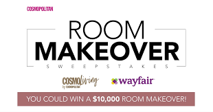 Win A Cosmopolitan Magazine $10,000 Room Makeover Sweepstakes