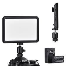 Camera Mount Led Lights Details About Led Video Light 3000k 6000k 2200mah Battery For Digital Camera Camcorder Tk202