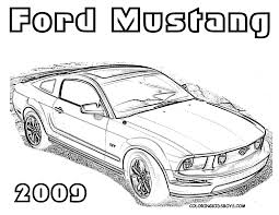 Small Picture mustang racing coloring page mustang car coloring pages 17 best