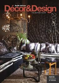 Designer Decor Port Elizabeth SA Decor And Design The Buyers Guide 100 Edition By SA Decor 58