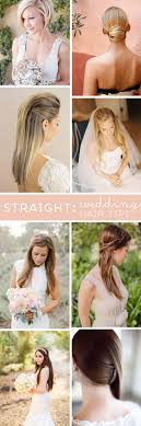 Wedding Hair Style Picture best 25 straight wedding hairstyles ideas party 5301 by wearticles.com