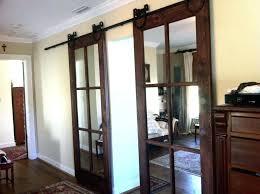 sliding barn doors interior. Interior Barn Door With Glass Style Doors Sliding
