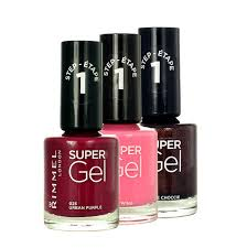 Rimmel London Super Gel Step1 062 Punk Rock Lak Na Nechty 12ml