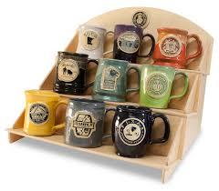 9-Mug Birch Display