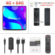 X88pro 10 Tv Box Set Top RK 3318 Android Box Für 4K MX3 Stimme I8 Tastatur  4 GB 64 GB smart x88 Pro 10 Android Tv Box Player|Set-top Boxes