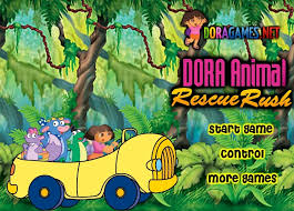 dora rescue rush