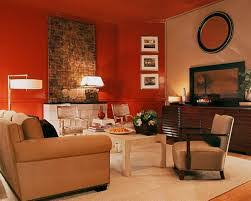 ... Living Room, Ordinary Rooms Decor Ideas Part 6 Red And Brown Orange  Living Room Decorating