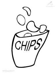 Drawn Bag Chip Free Clipart On Dumielauxepicesnet