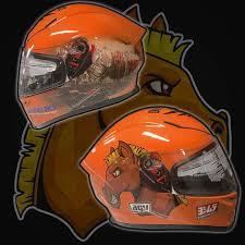 custom motorcycle helmet design wraps gator wraps