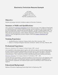 Electronics Technician Resume Samples Now Is The Time For You To Invoice And Resume Template Ideas