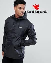new look nicce london overhead windbreaker jacket