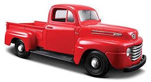 Amazon.com: 1948 Ford F1 Pickup Truck in Grey-Blue - Special Edition ...
