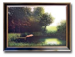 pig diving into pond water pig jumping off dock when pigs fly if a pig had wings pigs can fly michael sowa kohler s pig print framed michael sowa pig pigs