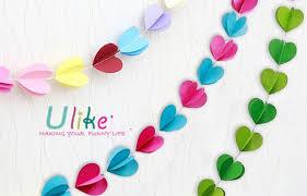 ulk p1 5 jpg  on 3d paper heart wall art with paper heart garland 3d effect wall decoration 3d wall art decor
