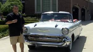 1957 Chevy Bel Air Convertible Classic Muscle Car for Sale in MI ...