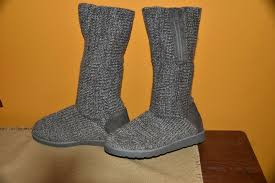 Kohls Shoe Size Chart From Kohls Gray Sweater Size 7 M Zip Up Mid Calf Winter Fall Everyday Boots Euc Ebay