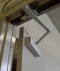 they are usually installed at the top of doors and door frames out of the line of sight unnoticed most door closers are purposely designed to match the