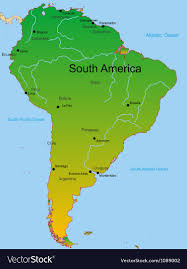 continent of america map. Interesting Continent Map Of South America Continent Vector Image And Continent Of America O