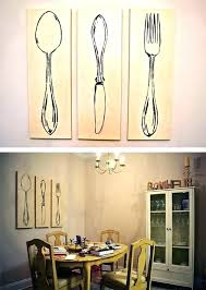 large fork and spoon decor