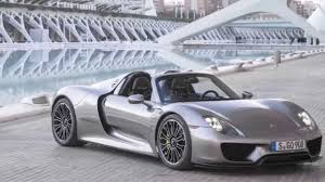2015 PORSCHE 918 SPYDER REVEALED - YouTube