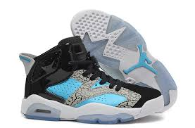 jordan shoes for girls 2014 black and white. girls new air jordan 6 retro gs leopard print black blue white for sale shoes 2014 and o