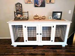 kennel furniture plush dog com custom indoor for you pets home double crate wood cu custom double dog kennel crate furniture