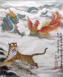 chinese dragon painting 40cm x 50cm 4732028 x