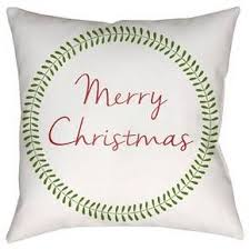 Good Christmas Card Throw Pillow Surya : Target