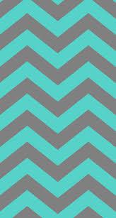 Chevron: Turquoises & Gray