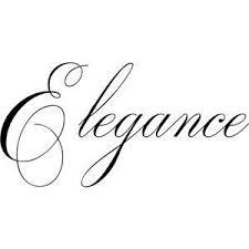 Image result for elegance word