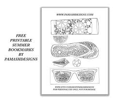 Signup now for free download, offers and more freebies! Free Printable Bookmarks Pam Ash Designs