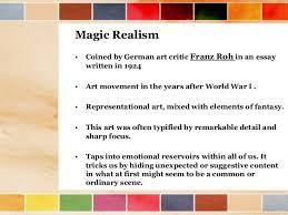 realism magic realism