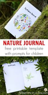 Printable Nature Journal With Creative Prompts For Kids Exploring