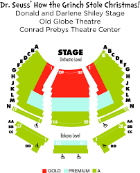 Seating Charts The Old Globe Seating Charts Old Globe
