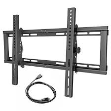Low profile tv wall mount Inch Tvs Sunyear Tilting Low Profile Tv Wall Mount Bracket For Most 3265 Inch Tvs 15 Degree Tilt For Led Lcd Oled And Plasma Flat Screen Tvs Up Tu2026 Tv Installation Sunyear Tilting Low Profile Tv Wall Mount Bracket For Most 3265