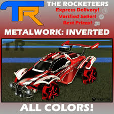 rocket league all painted metalwork