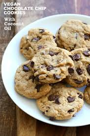 Vegan Bake Sale Recipes Vegan Chocolate Chip Cookies With Coconut Oil Palm Oil Free Recipe