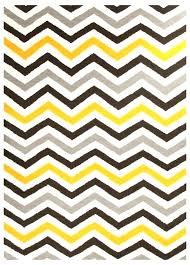 gray chevron rug chevron rug yellow area rugs large within plan 7
