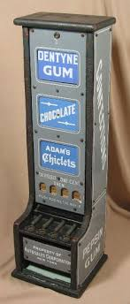 Small Vending Machines Ebay Classy Much Coveted Vintage Gum Vending Machine For Sale On Ebay A Cwtch