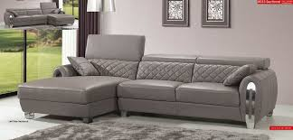 leather office couch. light grey full italian leather modern sectional sofa office couch