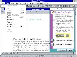 Winworld Microsoft Works 3 Win Word Processor