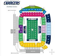 Chargers Stadium Seating Chart 74 Skillful Stubhub Center Boxing Seating View