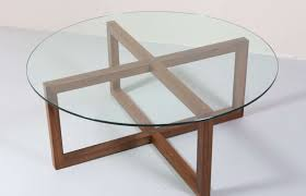 glass table top view. Marvelous The Best Glass Circle Coffee For Table Top View Style And Mirror S