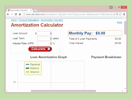Mortgage Payment Table Spreadsheet Of Amortization Chart