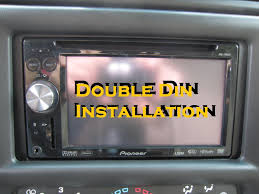 navigation screen in dash dvd double din stereo install navigation screen in dash dvd double din stereo install installation
